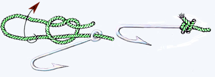 как закреплять крючки на технопланктон