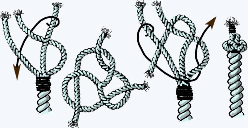 плетение тросов схема